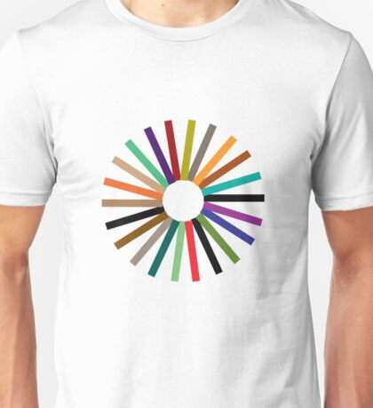 Colour Wheel T-Shirt Unisex T-Shirt