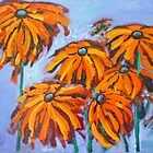 Heather's Black Eyed Susans by Phyllis Dixon