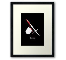 Baelor Framed Print