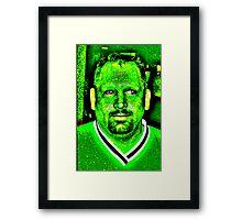 da Hulk Framed Print