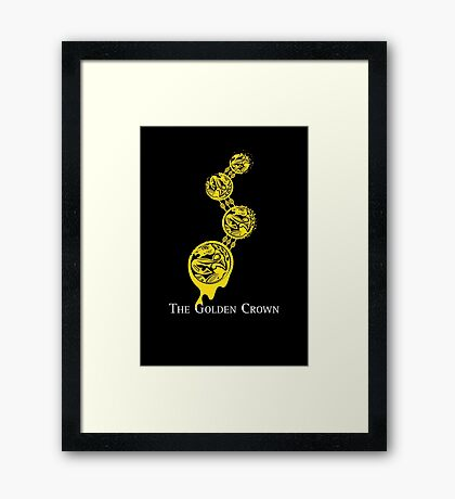 The Golden Crown Framed Print