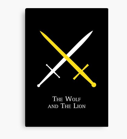 The Wolf and The Lion Canvas Print