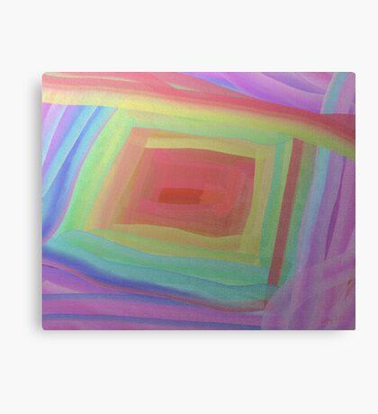 Silver Basket Canvas Print