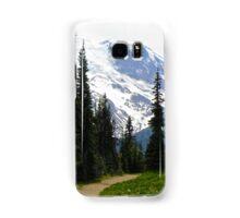 Mount Rainier Through the Trees Samsung Galaxy Case/Skin
