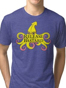 Release The Bastard (on black) Tri-blend T-Shirt