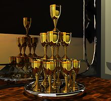 Golden Goblets 2 by Hugh Fathers