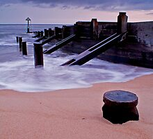 CLOUDY MORNING AT SEATON SLUICE by Michael Halliday