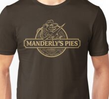 Manderly's Pies (in tan) Unisex T-Shirt