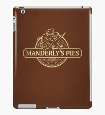 Manderly's Pies (in tan) iPad Case/Skin