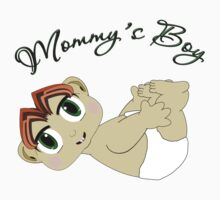 Mommy's Boy Red Hair and Green Eyes Kids Clothes