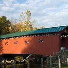 West Arlington Covered Bridge by Deborah Austin