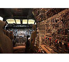 Concorde flight deck Photographic Print