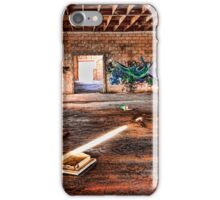 Abandoned Warehouse Niland California iPhone Case/Skin
