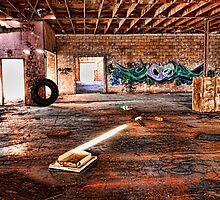 Abandoned Warehouse Niland California by Hugh Smith