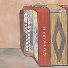 Button Accordion Four by Ken Powers