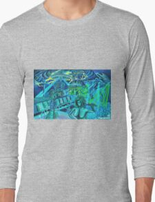 Static Bear series- Rave Party Long Sleeve T-Shirt