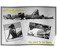 The Appeal Of Miami Beach Poster