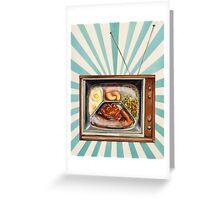TV Dinner Greeting Card