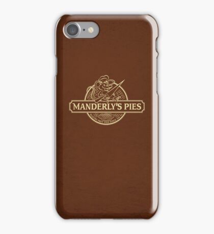Manderly's Pies iPhone Case/Skin