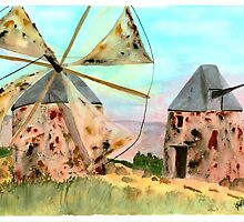 Windmills by Joyce Sousa