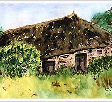 Peasant House by Joyce Sousa