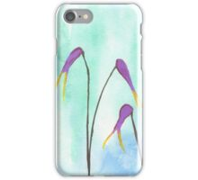 Scissors Flowers iPhone Case/Skin