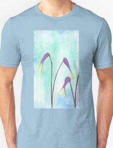 Scissors Flowers T-Shirt