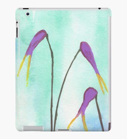 Scissors Flowers iPad Case/Skin