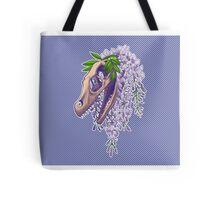 Velociraptor with Wistera Tote Bag