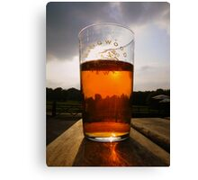 The New Forest: A Pint of Pure Gold Canvas Print