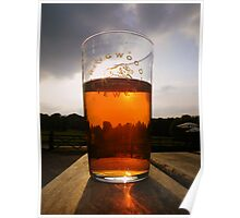 The New Forest: A Pint of Pure Gold Poster