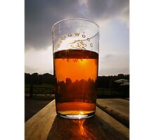 The New Forest: A Pint of Pure Gold Photographic Print