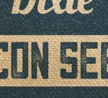 Bacon Seed Vintage Burlap Sack Sticker