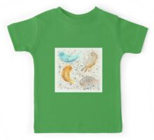 Sunbathing Seals Kids Tee