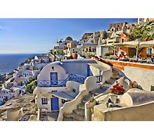 A Summers day in Greece Photographic Print