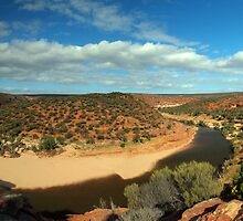 The Loop, Kalbarri NP, WA by Malcolm Katon