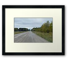 The Road to Love, Framed Print