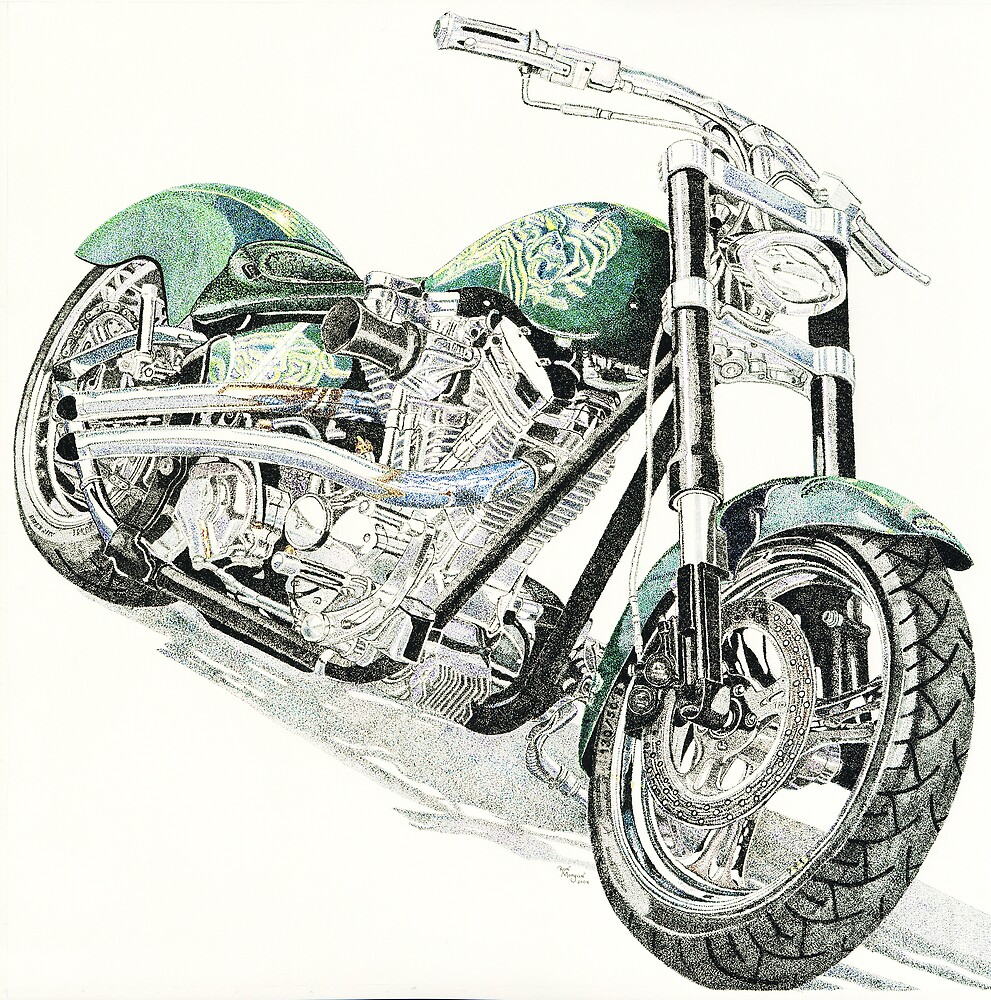 Green Meenie by Ron Morgan