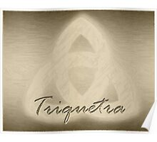 My Simple Triquetra Poster