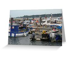 Boat Jumble Greeting Card
