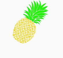 Bright Pineapple Pineapples Traditional Yellow Green  Unisex T-Shirt