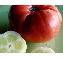garden fresh Photographic Print