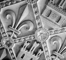 Castles and Fleurs-de-lis  by Elizabeth Tunstall