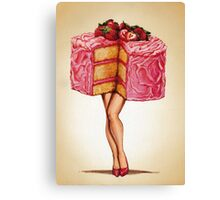 Hot Cakes Canvas Print