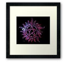 Supernatural Anti-Possession Galaxy Print Framed Print