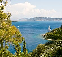 Room with a View II - Corfu by dunawori