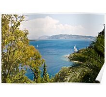 Room with a View II - Corfu Poster