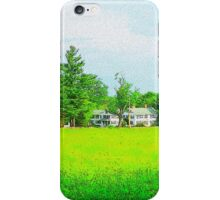 Upper Chestnut Street Field iPhone Case/Skin