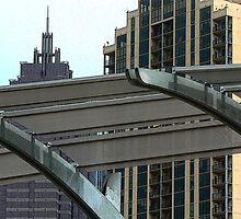 "Skyline Atlanta"" by franticflagwave"