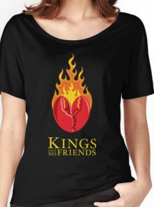 Fiery Lobster Claw Heart Sigil Women's Relaxed Fit T-Shirt